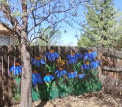 Outside Art Painted Fence Update Paperblog