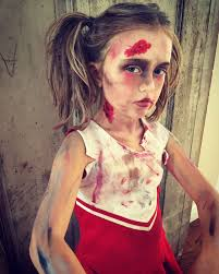 zombie cheerleader makeup diy