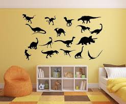Dinosaur Decals Boys Room Decal Personalized Decal Kids Etsy