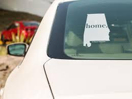Alabama Home Vehicle Decal Socra Tees