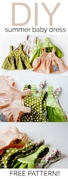 easy baby dress pattern for the