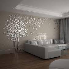 tree acrylic home personalised mirror