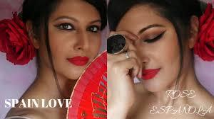 spanish makeup tutorial flamenco
