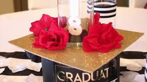 diy graduation centerpiece you
