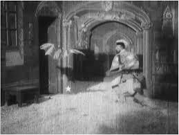 A frame from Georges Méliès' Le manoir du diable (1896). The devil... |  Download Scientific Diagram