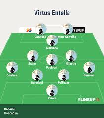 Virtus Entella - Pisa: le probabili formazioni