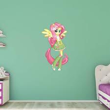 Fathead My Little Pony Fluttershy Equestria Girls Wall Decal Walmart Com Walmart Com
