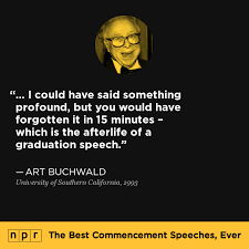 the best commencement speeches ever npr