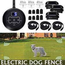 Wireless Electric Dog Fence Pet Containment System Train Collars For 1 2 3 Dogs 1pcs Lazada Ph