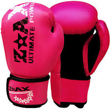leather boxing gloves punch bag