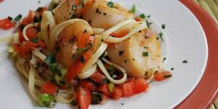 Summer-Style Shrimp and Scallops With ...
