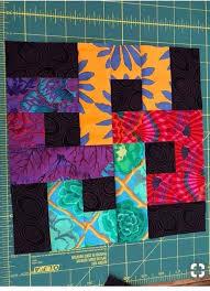 Chain Link Quilt Pattern Link Quilt Quilt Patterns Batik Quilts