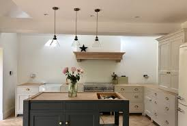 kitchen lighting with roses and