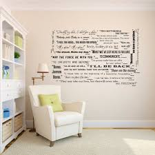 Famous Movie Quotes Wall Quotes Decal Collection Classic Etsy Large Wall Art Living Room Family Wall Decals Living Room Wall