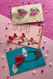 3 Tarjetas Super Mega Faciles Para El Dia Del Amor Y La Amistad Todas Muy Lindas Y Sobretodo Rapidas De Hacer Manualidades Tarjetas De Amor Tarjetas