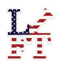 L Ft Usa Decal Lifting Culture