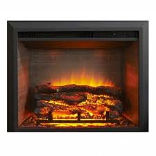 29 inch electric fireplace insert