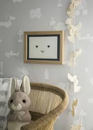 Borastapeter Grey Wallpaper Kids Room Brio Icons Made In Sweden