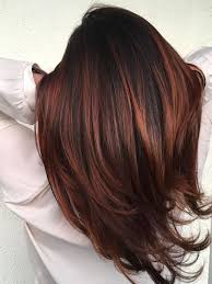 red highlights ideas for blonde brown
