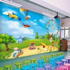 Custom Photo Wallpaper 3d Cartoon Playground Children Room Bedroom Wall Decoration Wall Mural Wallpaper For Kids Room Modern Wallpapers On Desktop Wallpapers On Desktop Background From Tongxunbei66 17 61 Dhgate Com
