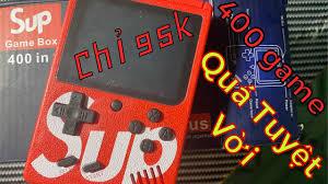 Review Máy Chơi Game SUP 400 in 1. Những Trò Chơi Huyền Thoại - YouTube