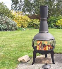 tuscan glo cast iron chiminea