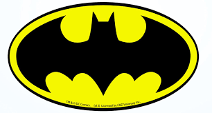 Amazon Com C D Visionary Licenses Products Dc Comics Batman Logo Sticker Toys Games