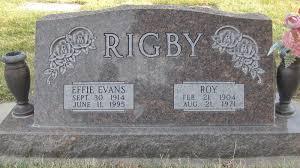 Effie Evans Rigby Cargeeg (1914-1995) - Find A Grave Memorial