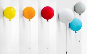 Kids Balloon Wall Light Baby Children Room Wall Lamp Balloon Wall Light Hanging Lamp