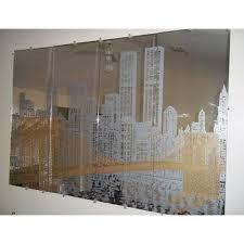 saint gobain stylish etched glass