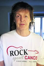 sir paul mccartney backs all cannings rock against cancer concert