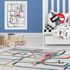 Boys Rug Cars Play Mat Boy Nursery Decor Cars Rug Kids Rugs Etsy