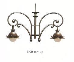 french antique cast iron street bracket