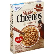 cheerios cereal sweetened whole grain