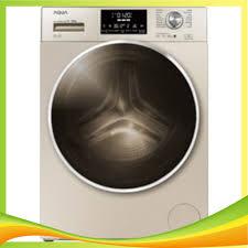 Máy giặt Aqua cửa ngang 10 kg màu vàng kim AQD-D1000C.N2