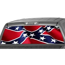 Rebel Flag Rear Window Graphic Decal Tint Sticker Truck Suv Ute Kittitchaomonoeraeae