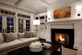 fireplace with a stylish mantel