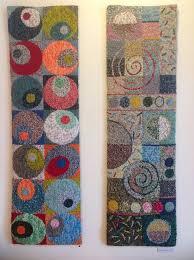 modern geometric rug hooking designs