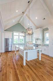 here kitchen lighting ideas for vaulted