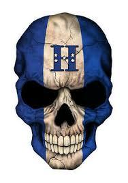 Skull Honduras Flag Vinyl Decal Sticker Car Window Wall Multiple Sizes Ebay