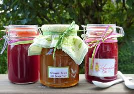 make homemade marmalade jam jellies