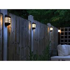 Gablemere Delightful Pack Of Four Led Solar Lights Provides Ambient Warm White Light And Is Ideal For Solar Wall Lights Solar Fence Lights Solar Lights Garden