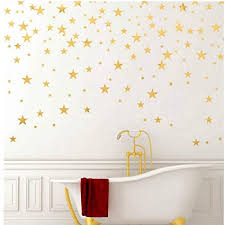 stars pattern diy wall stickers