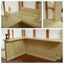 wood fence board countertop