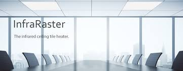 infrared ceiling tile heater for