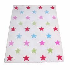 Girl S White Star Rug Fun Rooms For Kids