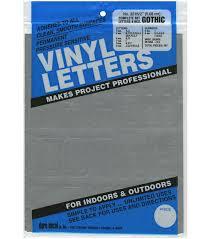 Duro 167pcs Permanent Adhesive Vinyl Letters Numbers Joann