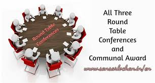 round table conferences and communal award