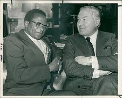 Amazon.com: Vintage photo of Abel Muzorewa and Mr Callaghan.: Entertainment  Collectibles