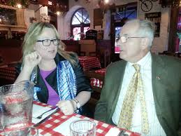 Authors Joanne Sweeney Burke and Ivan Morris | Christmas party, Party,  Morris